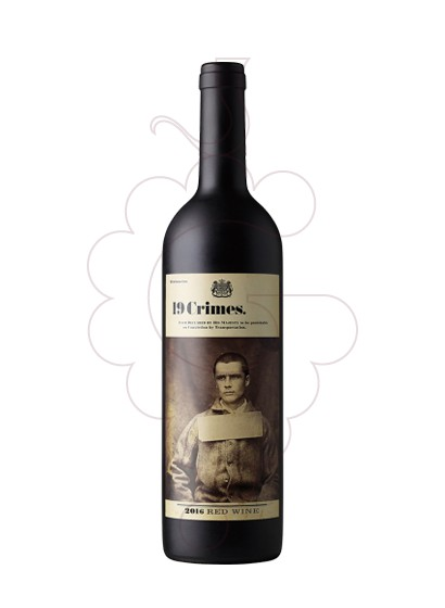 Foto 19 Crimes Red Blend vino tinto