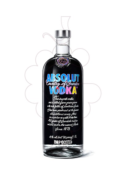 Foto Vodka Absolut Andy Warhol Ed.