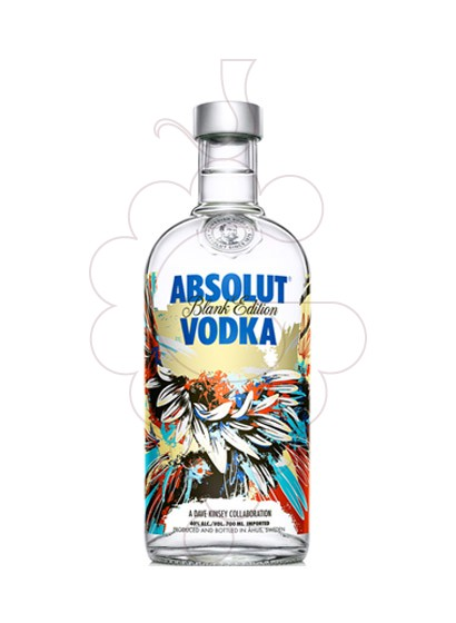 Foto Vodka Absolut Blank Edition (D. Kinsey)