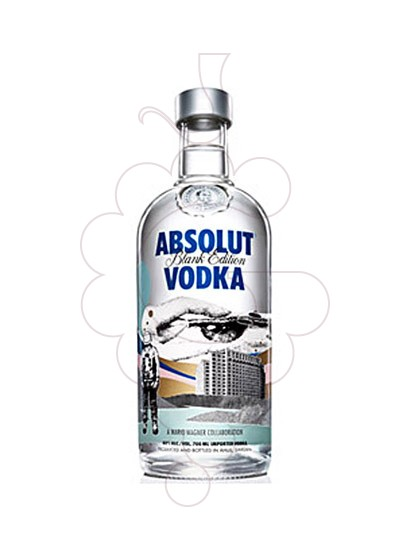 Foto Vodka Absolut Blank Edition (M. Wagner)