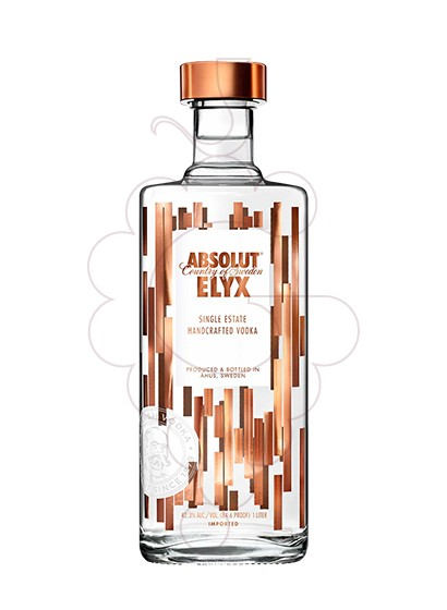 Foto Vodka Absolut Elyx