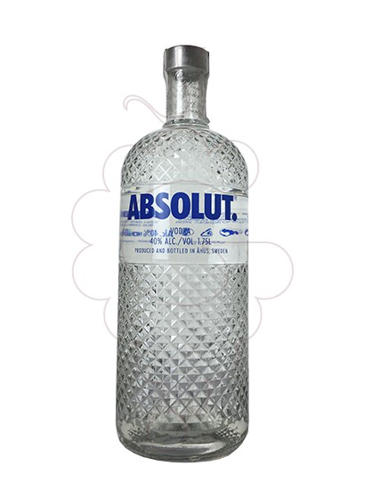 Foto Vodka Absolut Glimmer Led Light