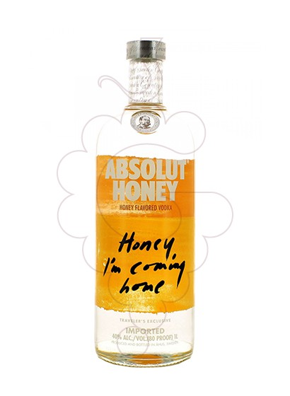 Foto Vodka Absolut Honey