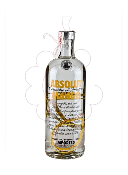 Foto Vodka Absolut Mango