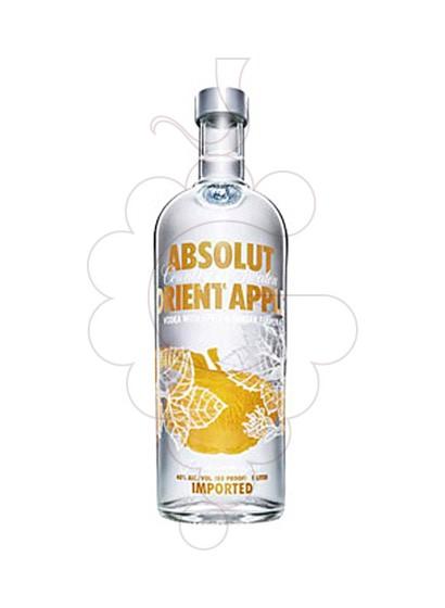 Foto Vodka Absolut Orient Apple