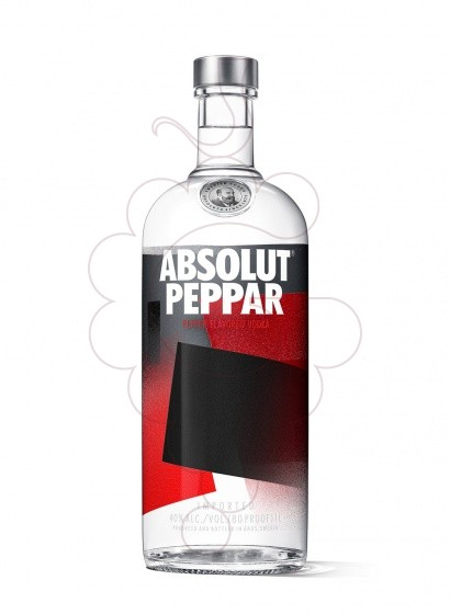 Foto Vodka Absolut Peppar