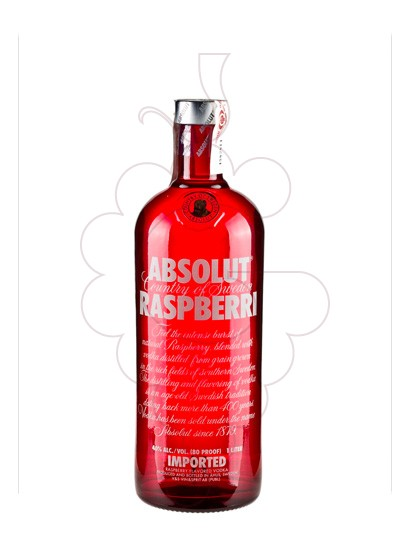 Foto Vodka Absolut Raspberri