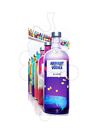 Foto Vodka Absolut Unique Edition