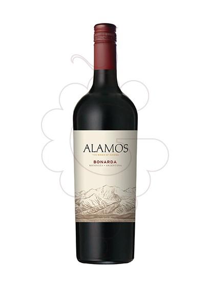 Foto Alamos Bonarda vino tinto