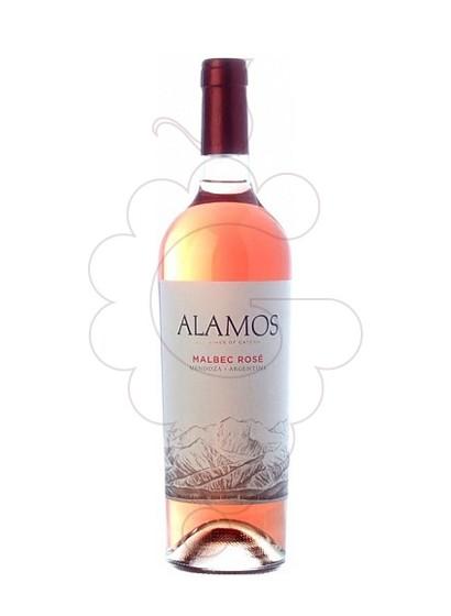 Foto Alamos Malbec Rose vino rosado