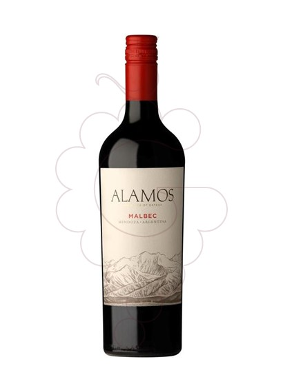 Foto Alamos Malbec vino tinto