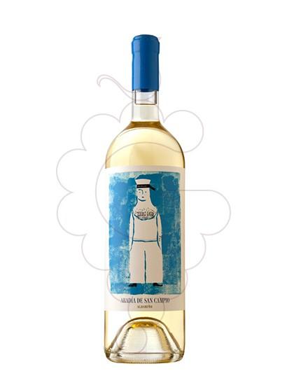 Foto Albariño Abadia de San Campio vino blanco