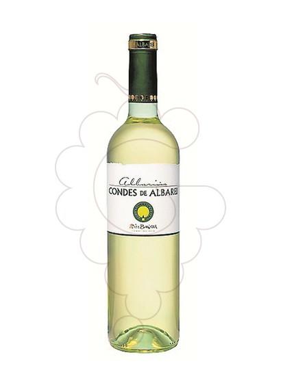 Foto Albariño Condes de Albarei vino blanco