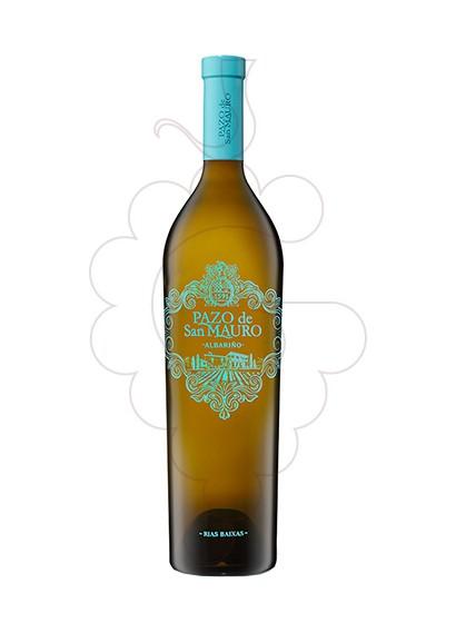 Foto Albariño Pazo San Mauro Magnum vino blanco