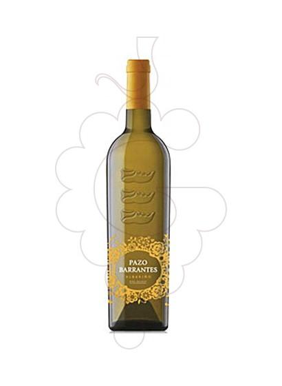Foto Albariño Pazo de Barrantes vino blanco