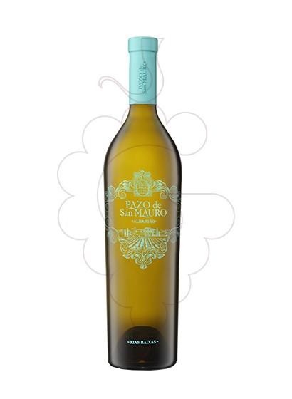 Foto Albariño Pazo San Mauro vino blanco