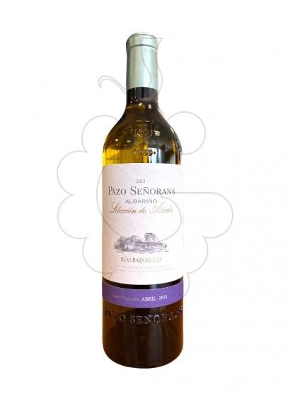 Foto Albariño Pazo Señorans vino blanco