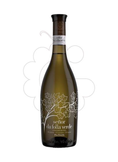 Foto Albariño Señor da Folla Verde vino blanco