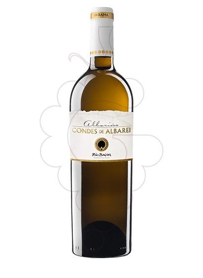 Foto Albariño Condes Albarei en Rama vino blanco