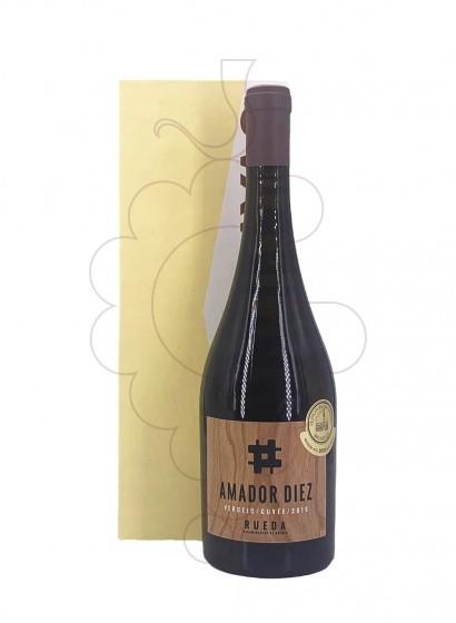 Foto Amador Diez vino blanco
