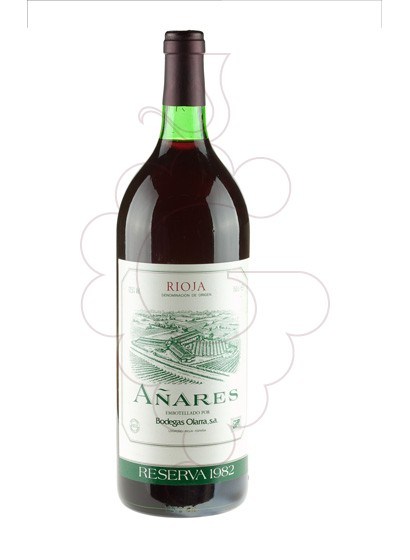 Foto Añares Magnum  vino tinto
