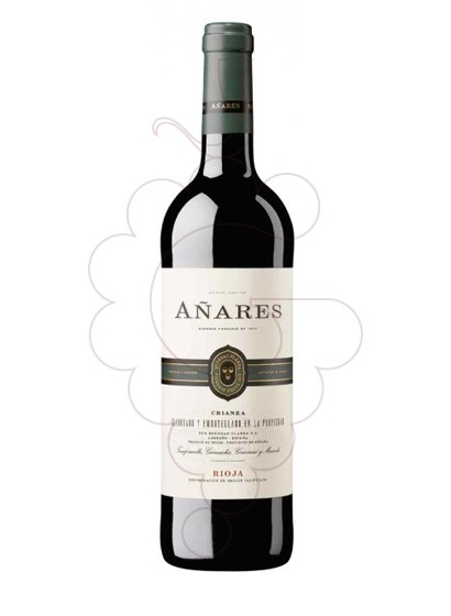Foto Añares Crianza vino tinto