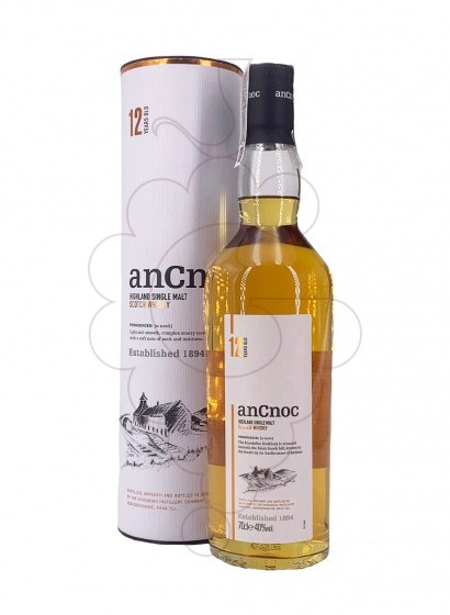Foto Whisky Ancnoc 12 Años