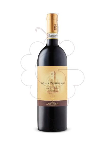 Foto Antinori Badia Passignano Chianti vino tinto