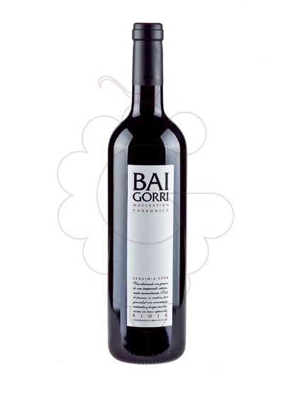Foto Bai Gorri Maceració Carbònica vino tinto