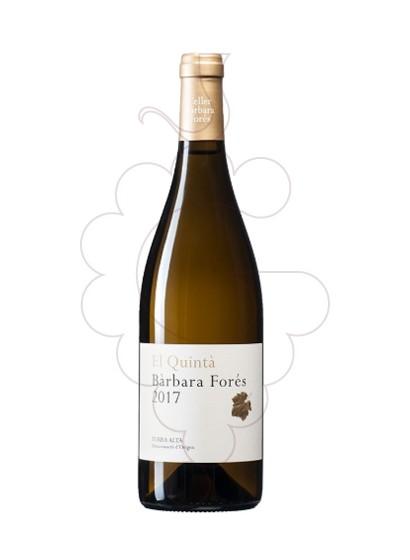 Foto Barbara Fores el Quinta vino blanco