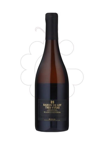 Foto Barón de Ley Tres Viñas vino blanco