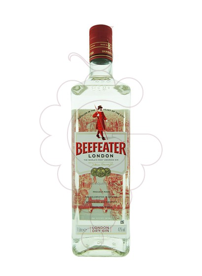 Foto Ginebra Beefeater rellenable