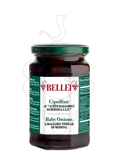 Foto Vinagre Bellei Cipolline All'Aceto Balsamico