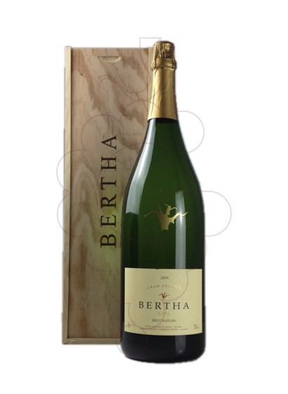 Foto Bertha Cardus Gran Reserva Brut Nature Jeroboam vino espumoso