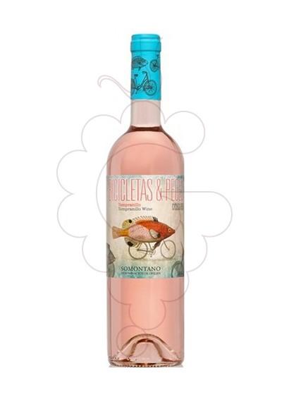 Foto Bicicletas y Peces Rosado vino rosado