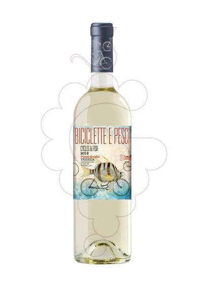 Foto Biciclette e Pesci Pinot Griggio vino blanco