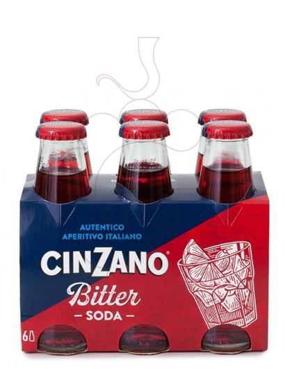 Foto Aperitivo Bitter Cinzano Soda-rtr. pack 6 u