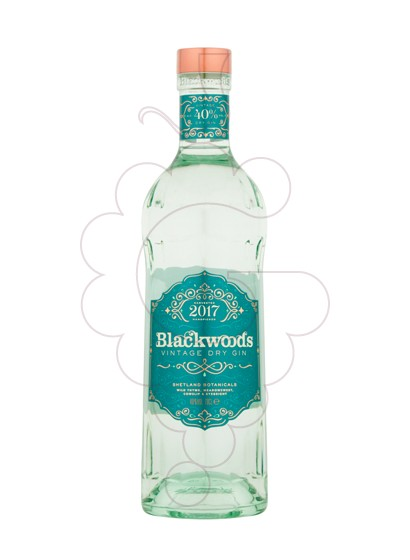 Foto Ginebra Blackwood's Gin