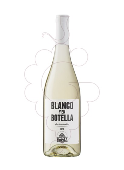 Foto Blanco y en Botella vino blanco