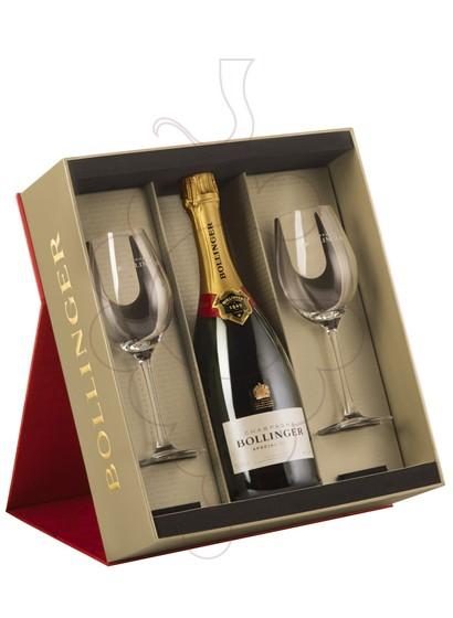 Foto Cajas regalo Bollinger Cuvée Brut Pack (1 u + 2 copas)
