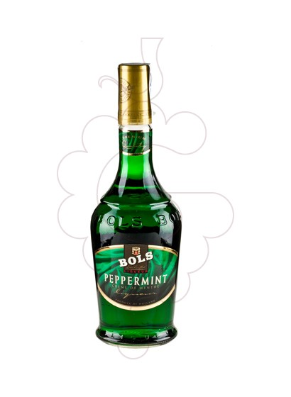Foto Licor Bols Pippermint Green Teardrop