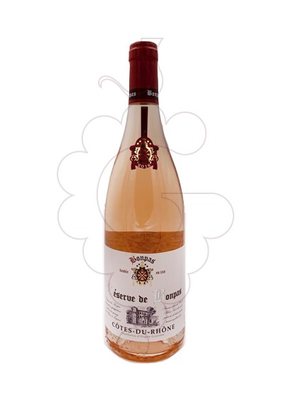 Foto Bonpas Côtes du Rhône Rosado vino rosado