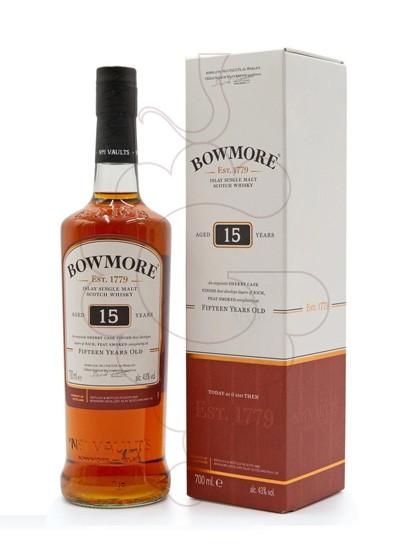 Foto Whisky Bowmore Darkest 15 Años