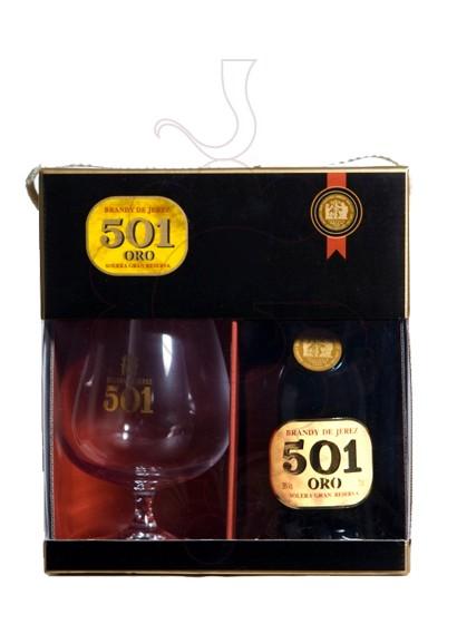 Foto Brandy 501 Oro Pack (1 u + Copa)