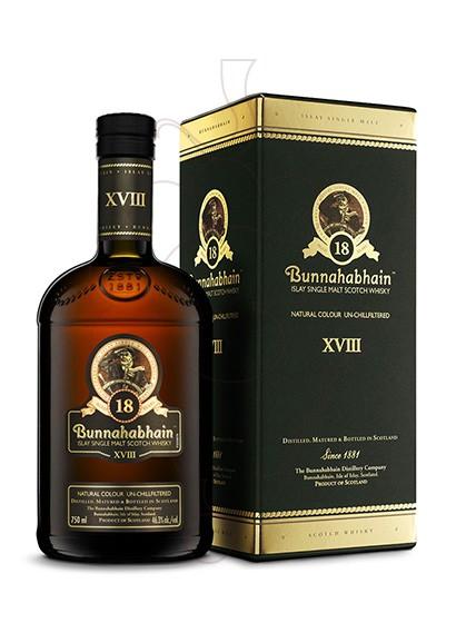 Foto Whisky Bunnahabhain 18 Años