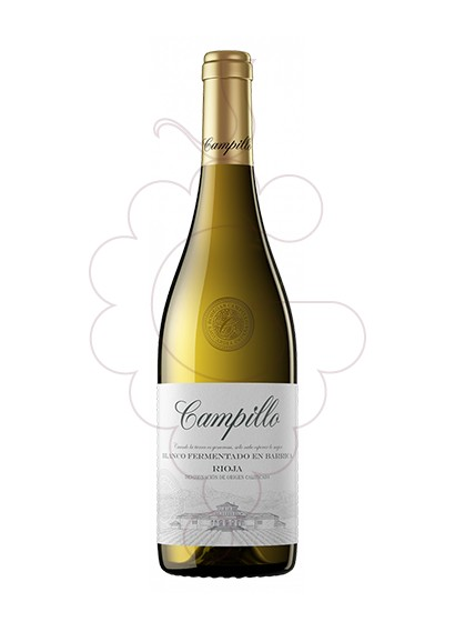 Foto Campillo Blanc Fermentat Barrica vino blanco