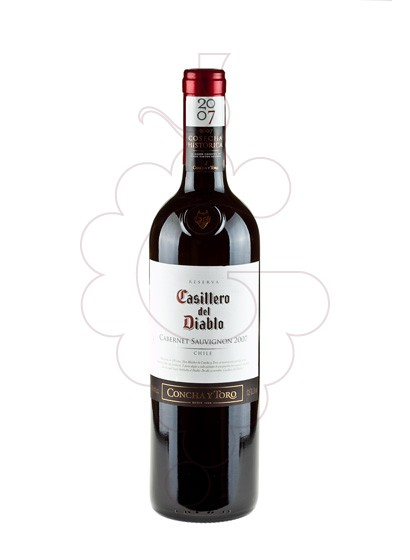 Foto Casillero del Diablo Cabernet vino tinto