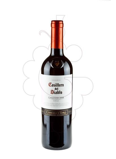 Foto Casillero del Diablo Carmenere vino tinto