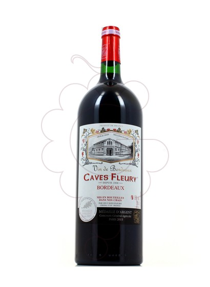 Foto Caves Fleury Tinto Magnum vino tinto