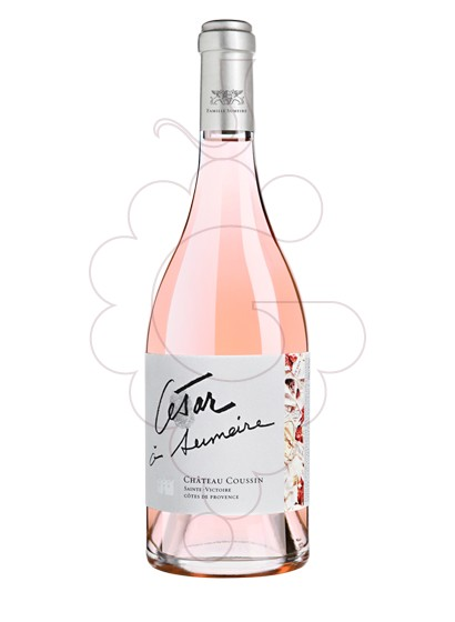 Foto Ch Coussin César à Sumeire Rosado vino rosado